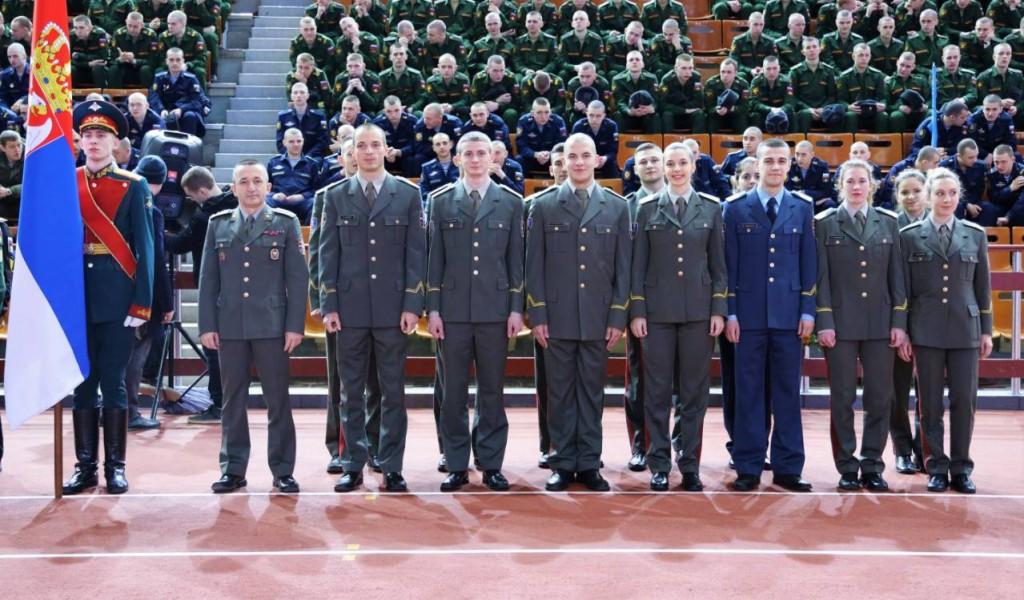 Учешће кадета Војне академије на атлетском митингу у Руској федерацији