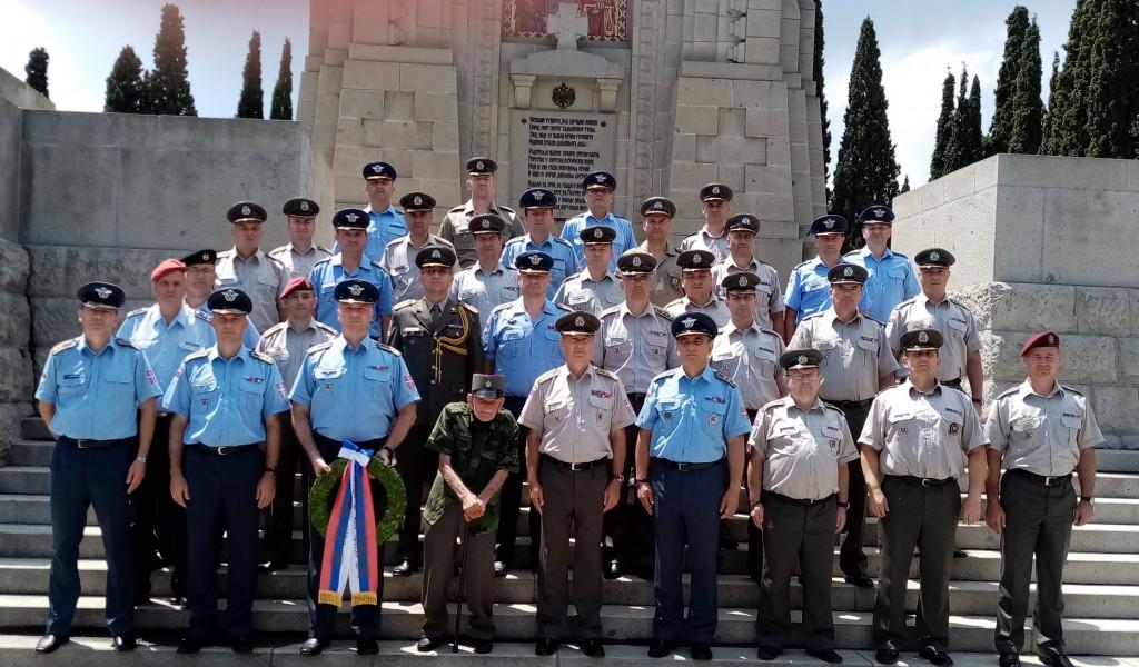Полазници Генералштабног усавршавања посетили  Здружени ратни колеџ Оружаних снага Грчке