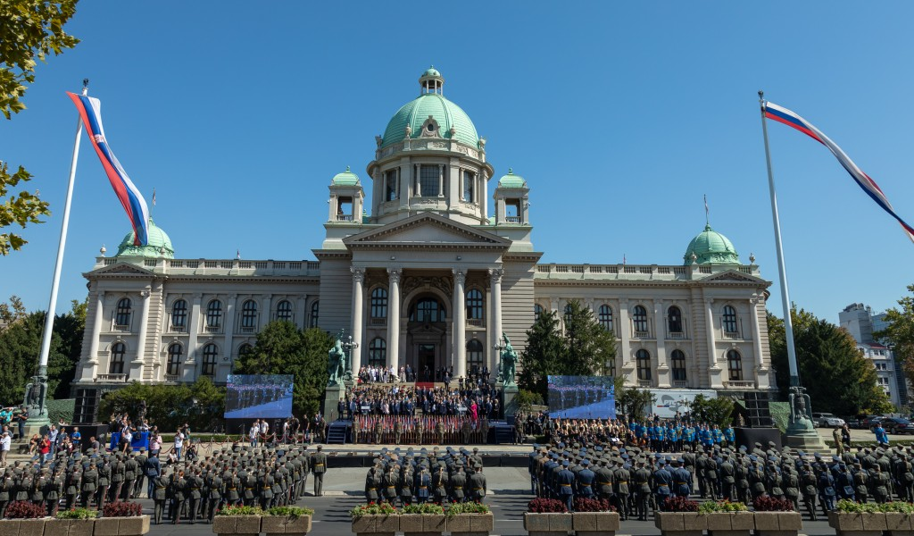 Youngest Serbian officers promoted