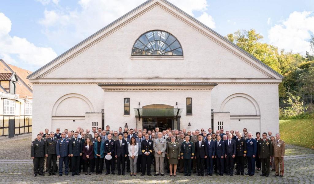 Делегација Универзитета одбране на састанку команданата војнообразовних установа
