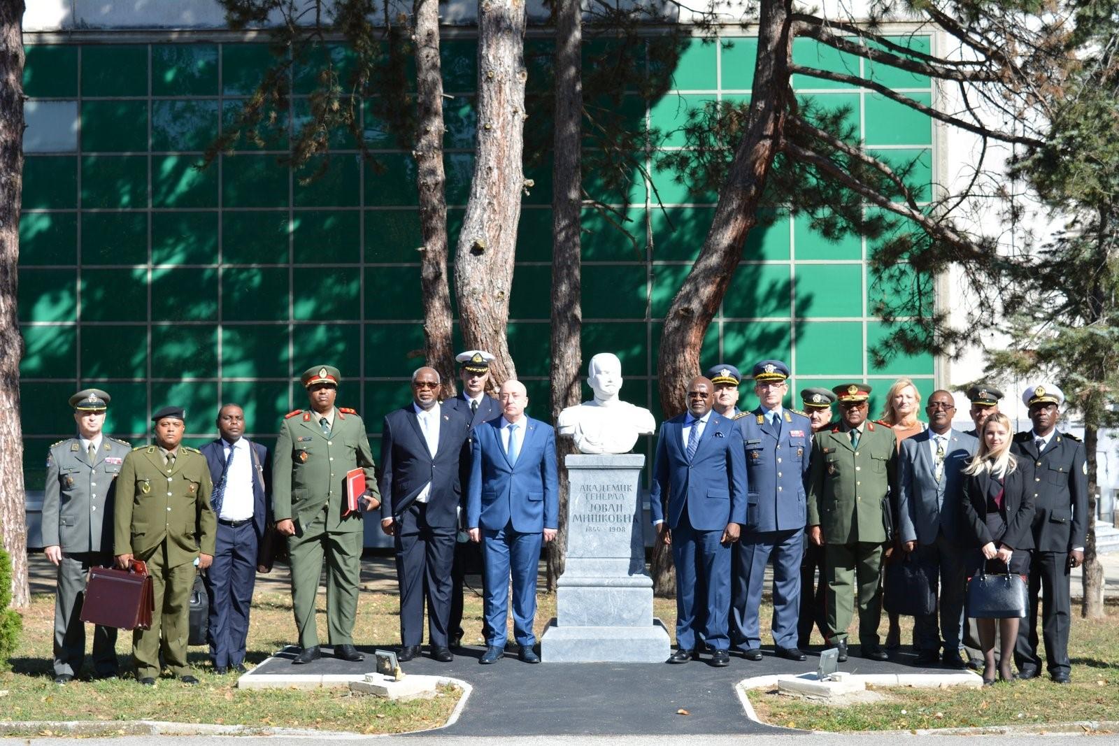 Посета делегације МНО Републике Анголе Универзитету одбране
